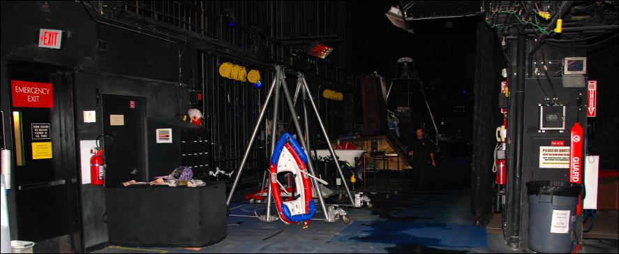cirque o backstage