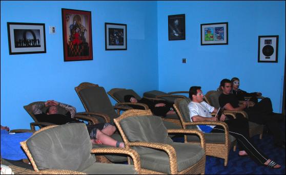 cirque o blue room