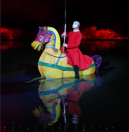 cirque o comet horse (cirque du soleil)