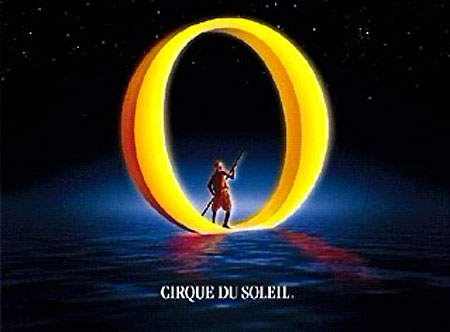 Cirque du Soleil: O show logo