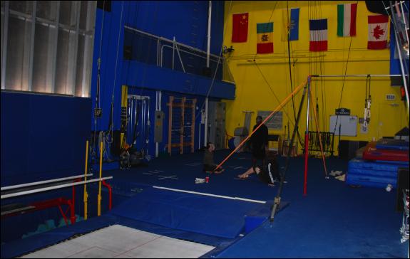 cirque o practice room