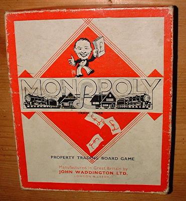 classic english monopoly box