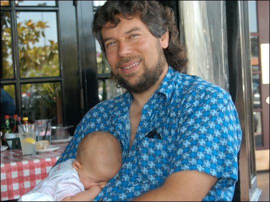 dave taylor with baby