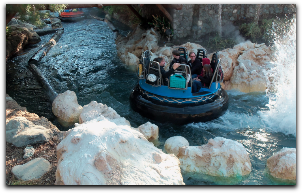 disney california adventure grizzly river run