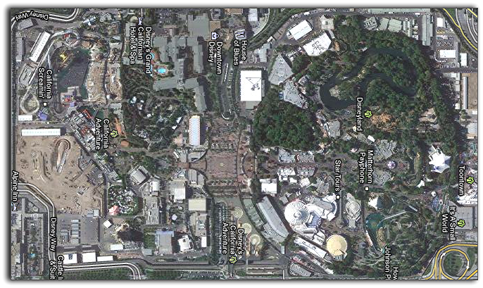 disney satellite view