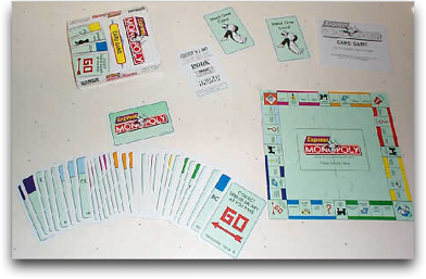 Express Monopoly Card Game