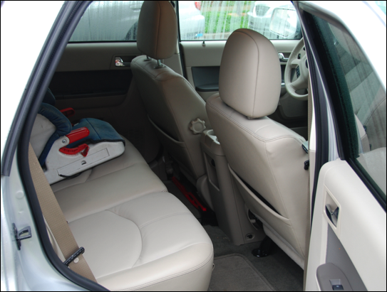 mercury mariner hybrid rear seats