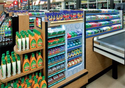 supermarket endcap