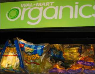 walmart moves into organics