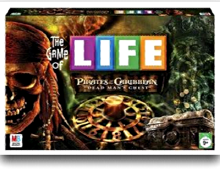 family game night - pirates of the caribbean life