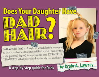 does your daughter have dad hair book cover