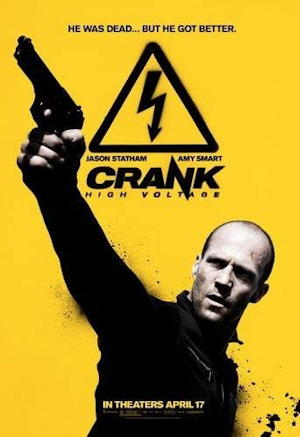 crank high voltage movie poster one sheet 2009