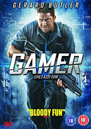 gamer gerard butler movie poster one sheet 2009