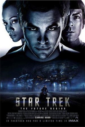 star trek 2009 movie poster