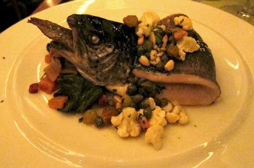 Angry Trout at the Summit Restaurant, The Broadmoor, Colorado Springs