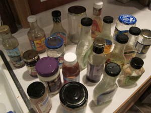 A shocking amount of expired food was tucked into my refrigerator