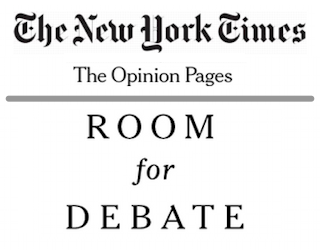 new york times nyt - room for debate