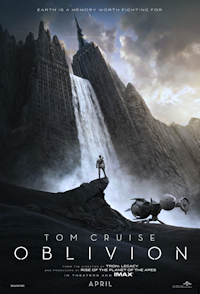 Oblivion w/ Tom Cruise: One Sheet Poster