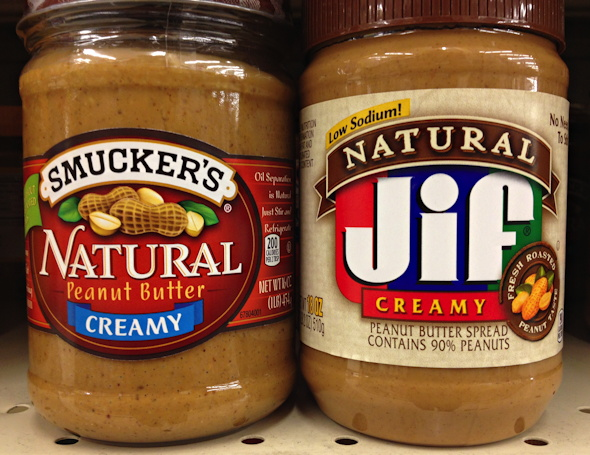 Smucker's Natural vs Natural Jif