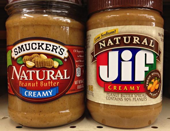 Peanut Butter All Natural Vs Regular