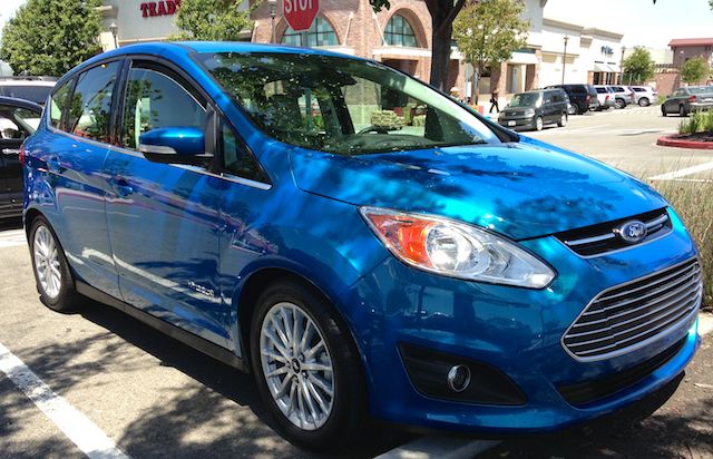Ford C-MAX Hybrid, Candy Blue