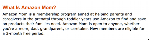 amazon moms membership criteria