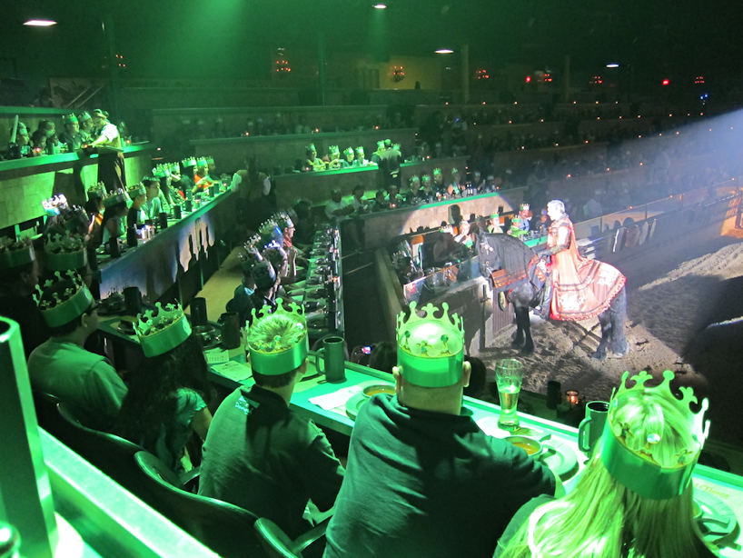 We were part of the Green Knight's province!