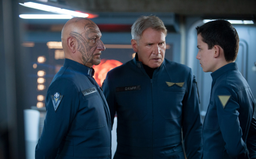 enders game movie publicity still