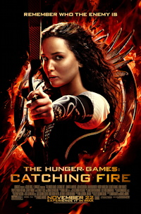 The Hunger Games: Catching Fire one sheet poster