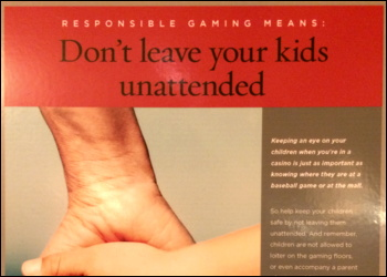 gambling problem warning