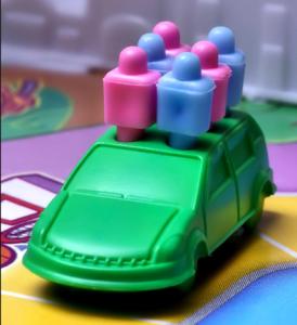 full car closeup, game of life