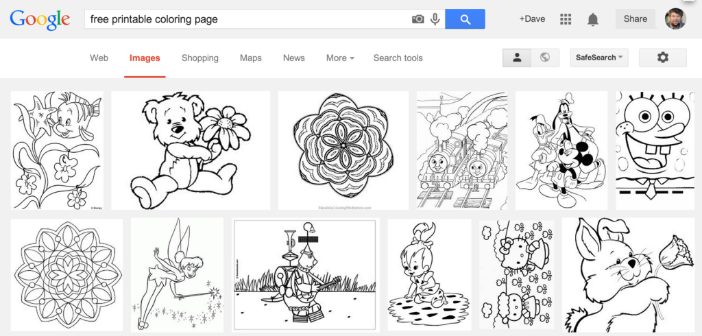 free printable coloring pages - google image search