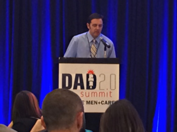 Christian Toto, speaking at Dad 2.0 Summit