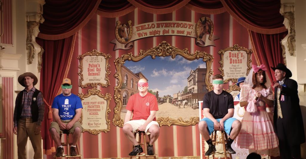 Golden Horseshoe Revue, Disneyland CA