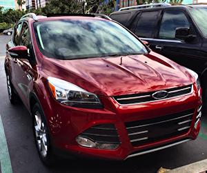 Ford Escape 2014 - cherry red