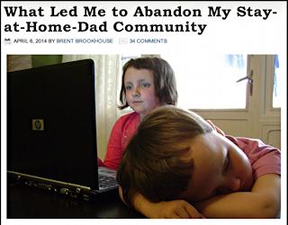 abandon the stay at home dad (sahd) community?