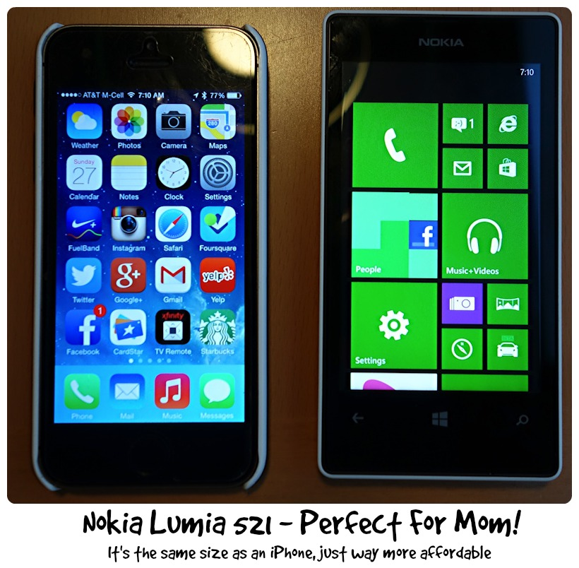 Apple iPhone vs Nokia Lumia 521