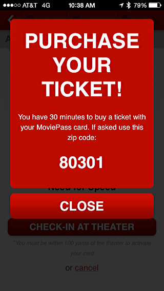 moviepass - buy your ticket!