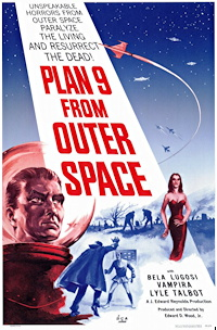 plan 9 from outer space one sheet