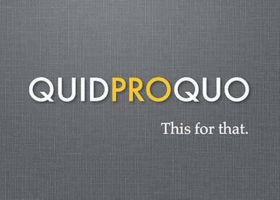 quid pro quo company agency blogger
