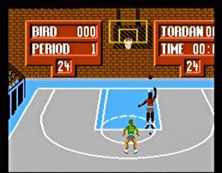 One on One time with children - the Atari basketball edition