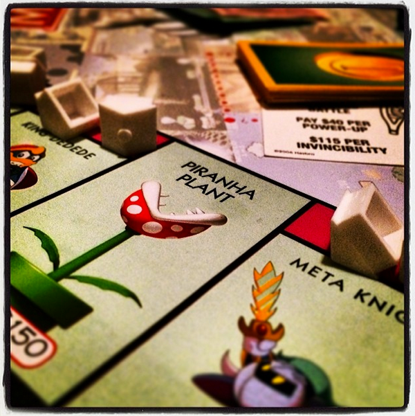 Nintendo Monopoly from USAopoly
