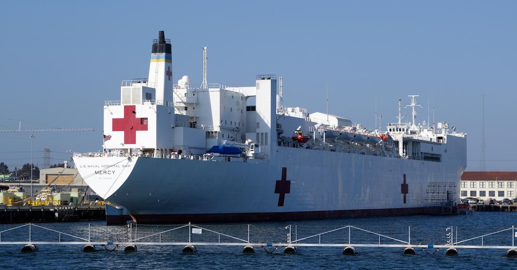 USNS Mercy Floating Hospital Ship