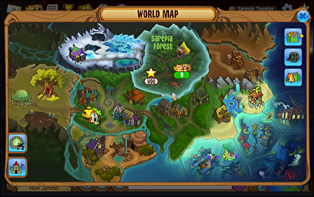 the world of animaljam