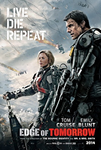 Edge of Tomorrow one sheet poster