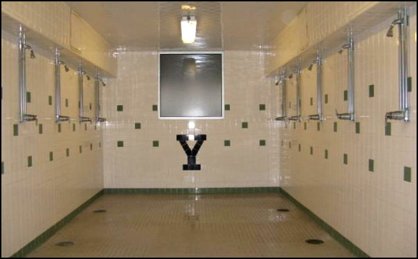 gym shower at the Y