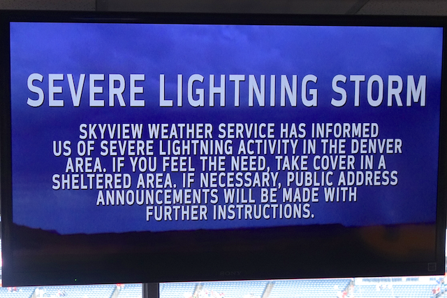 severe lightning storm warning
