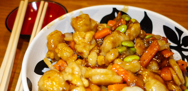 schwan's orange chicken dinner