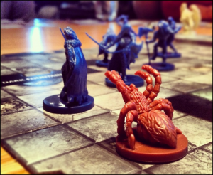 Spider Attack, Castle Ravenloft!