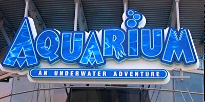 denver aquarium signage